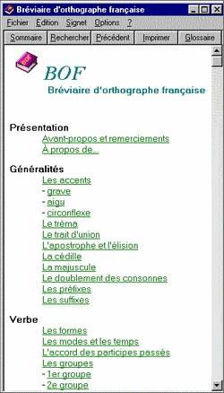 bréviaire dorthographe française gratuit
